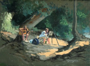 Painting on the Potomac