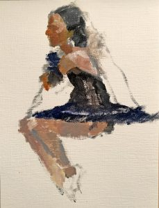 Painting of a Ballerina